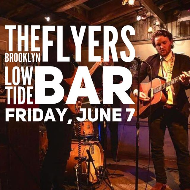 The Brooklyn Flyers lay somewhere on the Great American crossroads between Willie Nelson, Neil Young, and Chuck Berry. You'll mistake their originals for covers and their covers for originals. Either way, you'll be up and dancing. Come see them LIVE at @low_tide_bar this Friday! The weather looks 💯💯💯! @brooklynflyers #clemerica #clemericarules
