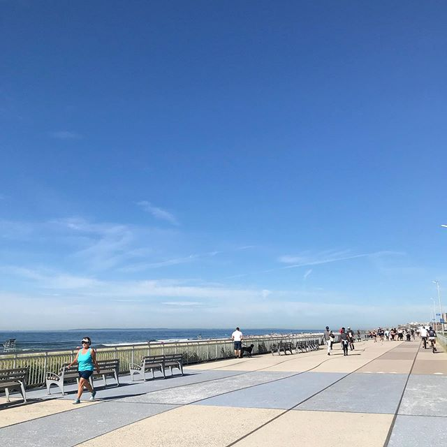 The boardwalk is already bustling! Come hang at @rockawaybeachclub today! We have @rockstockandbarrel festival TODAY! Live music all day SATURDAY on the boardwalk. Don't miss Real Young & Lazy Horse at @rippers86 !