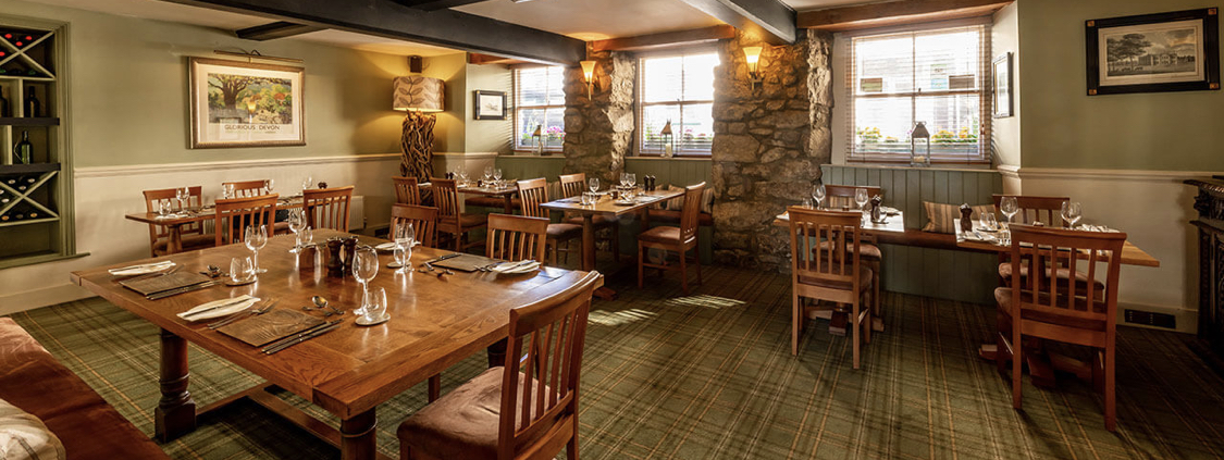 The White Hart Hotel dining room, where we will hold the reception lunch from 2pm.