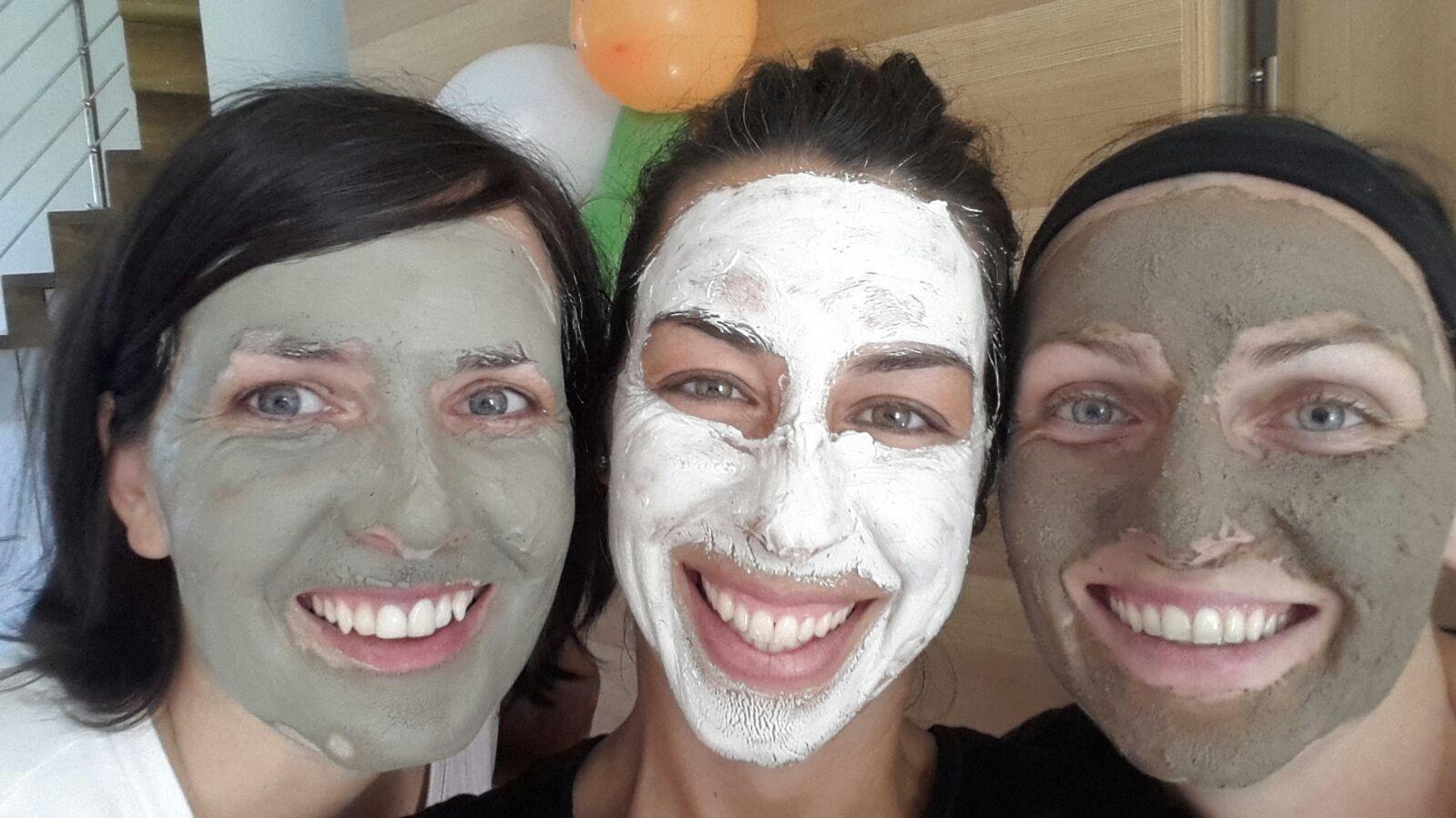 Heilerde-Gesichtsmaske
