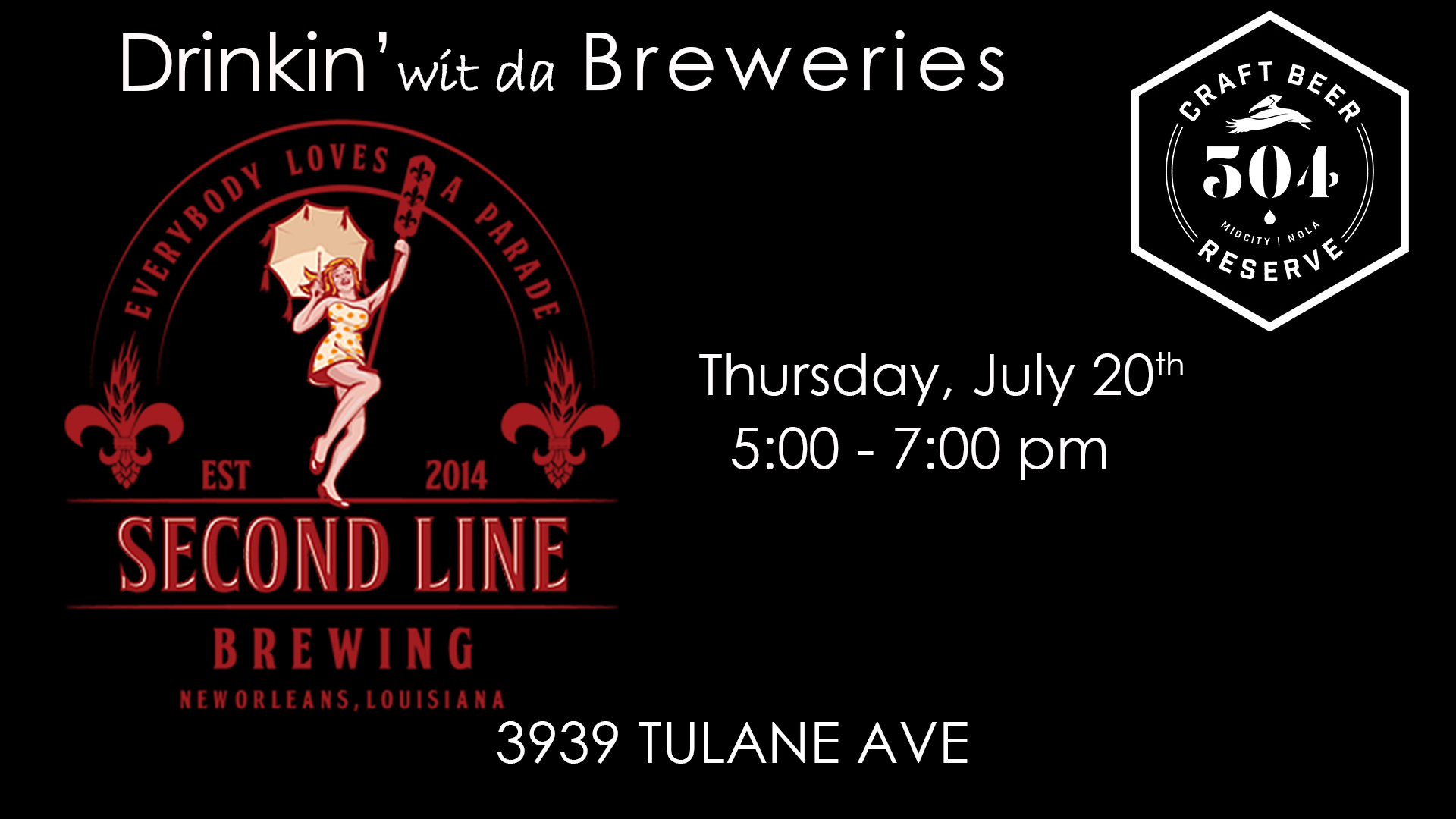 Saison Named Desire | AlryteAlryteAlryte | IPA | Route 47 | Batture Blonde | Cease to Love