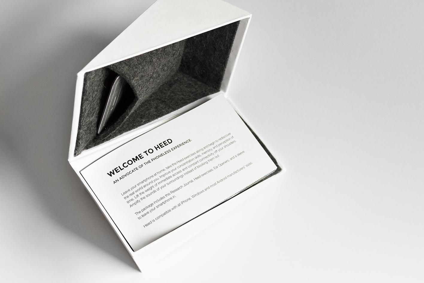 Packaging Design Project HEED © Karoliina Helosuo