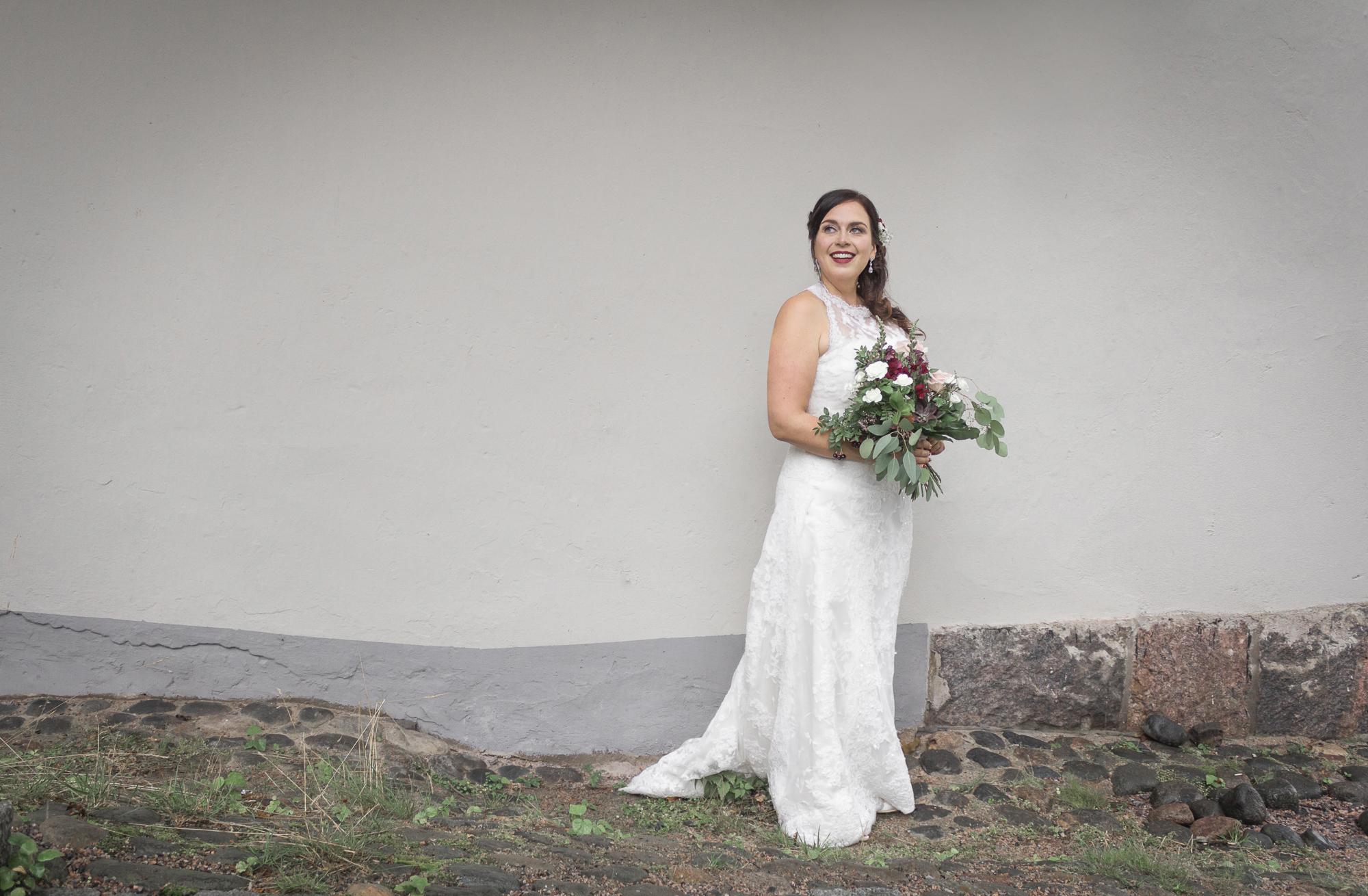MUA: Ninna Xenia, bridal portrait of Laura Rantalainen