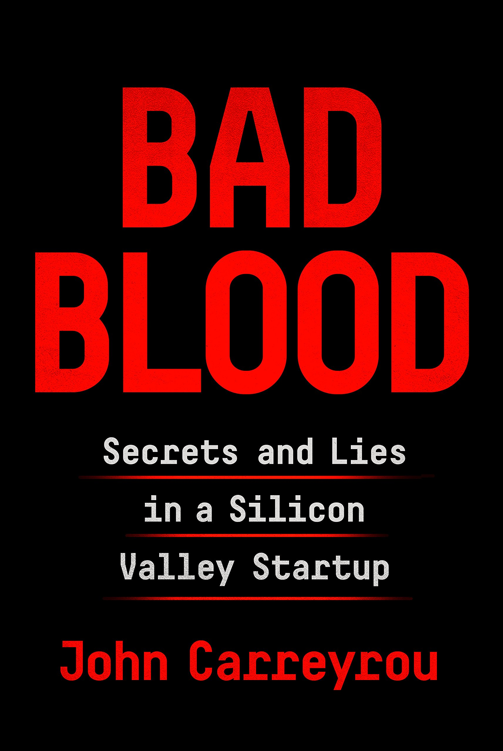 """In 2014, Theranos founder and CEO Elizabeth Holmes was widely seen as the female Steve Jobs: a brilliant Stanford dropout whose startup """"unicorn"""" promised to revolutionize the medical industry with a machine that would make blood testing significantly faster and easier. Backed by investors such as Larry Ellison and Tim Draper, Theranos sold shares in a fundraising round that valued the company at more than $9 billion, putting Holmes's worth at an estimated $4.7 billion. There was just one problem: The technology didn't work.  A riveting story of the biggest corporate fraud since Enron, a tale of ambition and hubris set amid the bold promises of Silicon Valley."""
