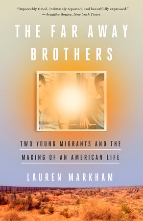 - THE FAR AWAY BROTHERS by Lauren MarkhamIn El Salvador in the wake of the civil war, the United States was a distant fantasy to twins Ernesto and Raul Flores. In this chronicle of contemporary immigration, Lauren Markham follows the lives of the Flores twins with intimate access & breathtaking range.NYT Book Review Best Books of the Year, Ridenhour Book Prize Winner, The California Book Award Silver Winner, Los Angeles Times Book Prize: Finalist, Shortlisted for the J. Anthony Lukas Book Prize, Longlisted for the Pen/Bograd Weld Prize for Biography