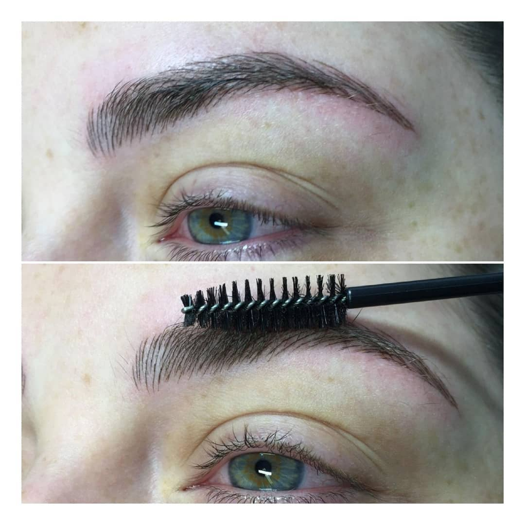 Microblading - The technique of implanting pigment after the creation of fine incisions in the skin may date back thousands of years, but the trend towards using the technique for eyebrows emerged in Asia and was known as feathering or embroidery prior to becoming known as microblading. Similar to permanent makeup eyebrow treatments using a machine, the Microblading technique involves drawing individual, crisp hair strokes that can be very natural looking. The needles used come in a variety of diameters so that the thickness of each individual hair stroke can be customized to each client depending on the width of their natural hairs as to make the microblading process look more natural. he color choice is patient specific and is mixed using a natural selection of micropigments to complement hair color and skin tone.