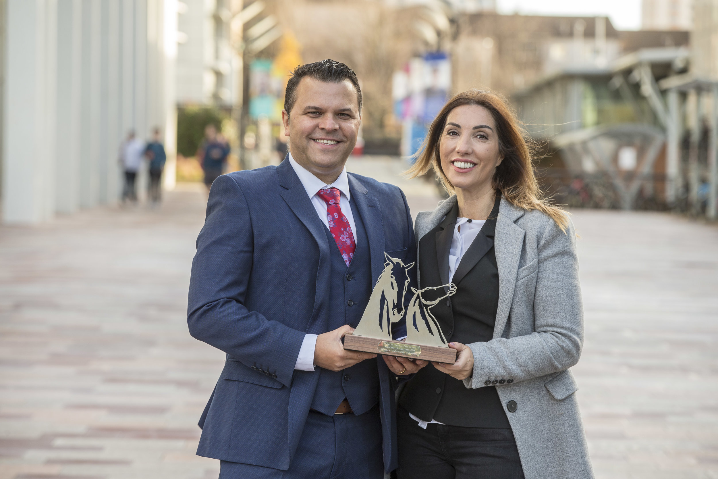 Alumnus of the Year 2018 - Glasgow Caledonian University Pedro Santos - Remake Up