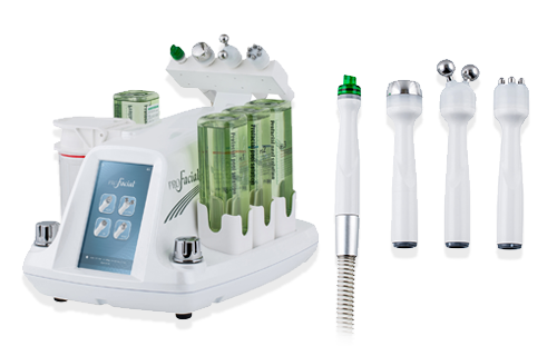 - All-in-one solution for multi-dimensional, effective facial care by combining four technologies of Aqua Peeling, Ion Lifting, Multipolar RF and Ultrasound