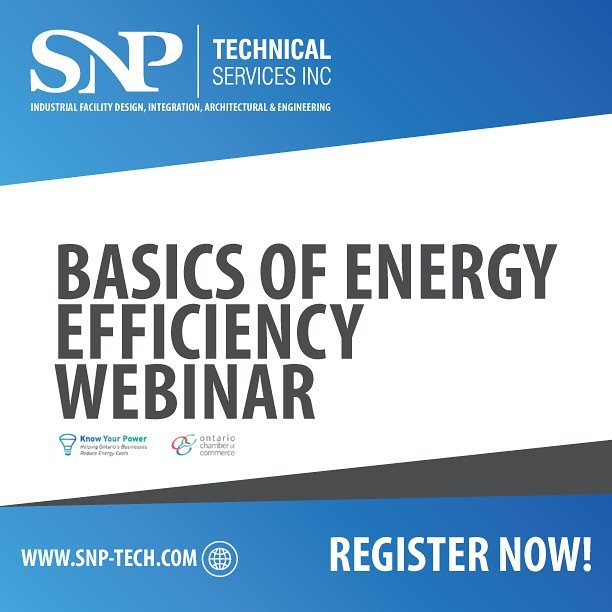 Interested in improving your energy efficiency but don't know where to start?  Know Your Power's Basics of Energy Efficiency Webinar is on June 26 from 11:00am - 12:00pm.  Register now, it's FREE!  Link in bio. #snptech #energyefficiency #webinar #free #registernow #yqg