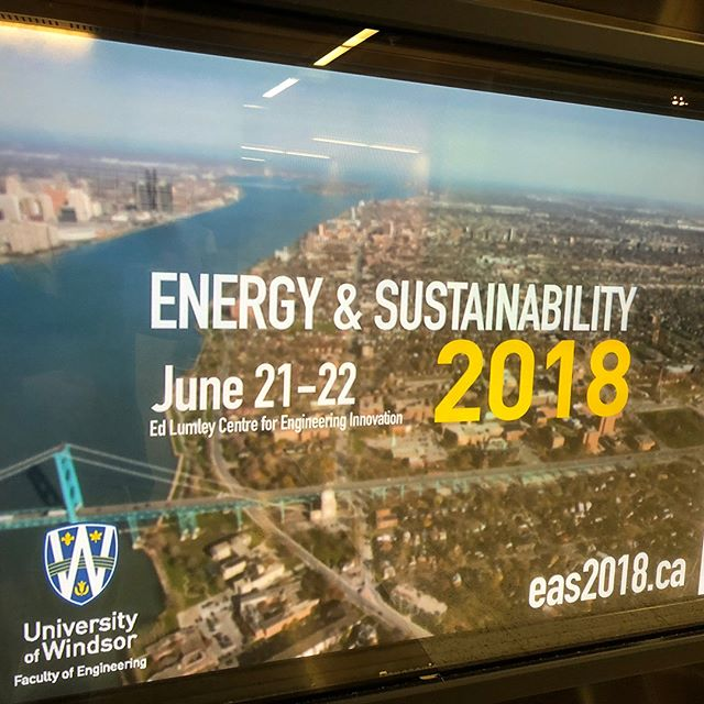 Joshua Lewis, CEM, CMVP represented SNP Technical Services Inc. at the Energy & Sustainability Summit 2018 at the University of Windsor last week. As the Gold Sponsor for this event, we are excited for the educational and networking opportunities.  www.eas2018.ca .  #energy #sustainability #snp University of Windsor #education @uwindsor