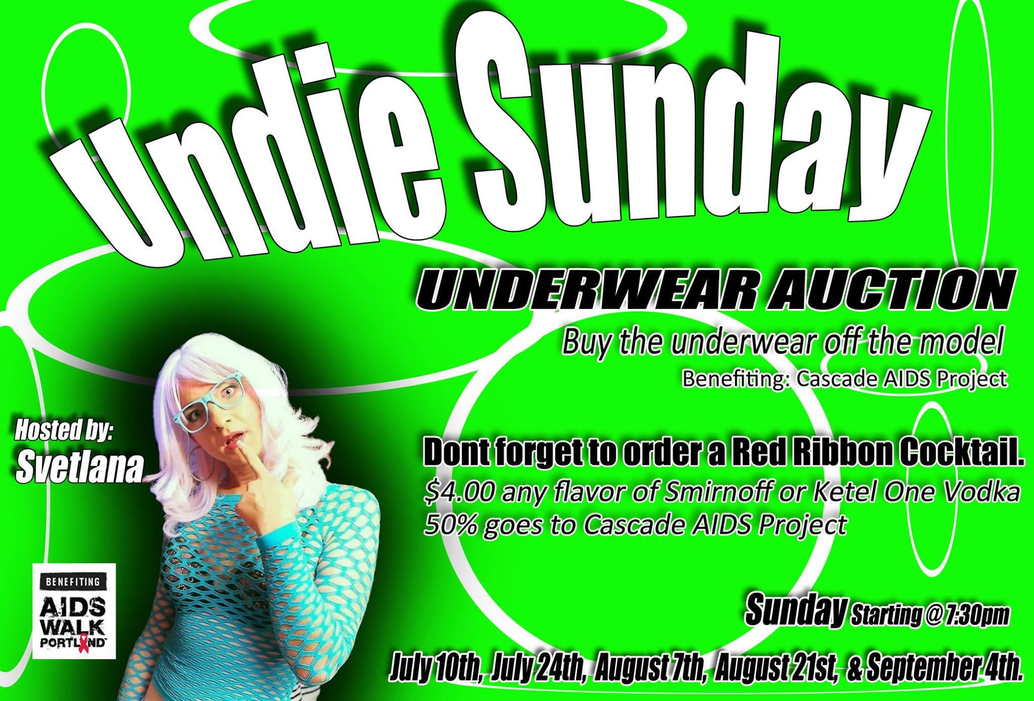 Underwear Auction Portland