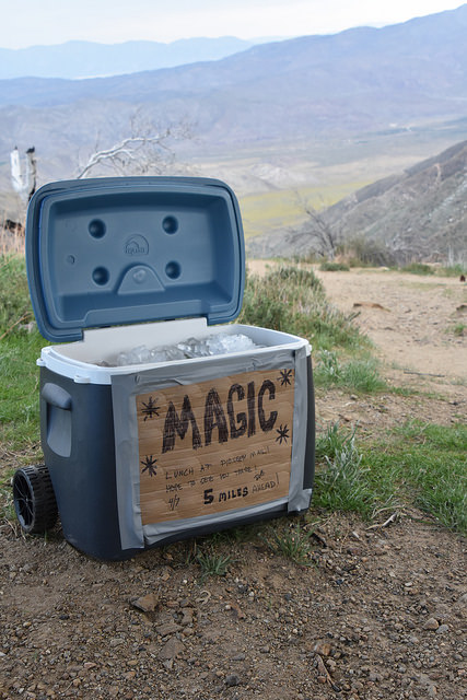 """Trail Magic"" photo by  Rob Bertholf"