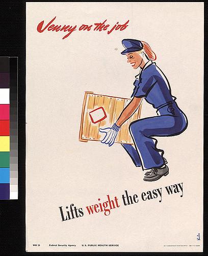 women deadlifting box