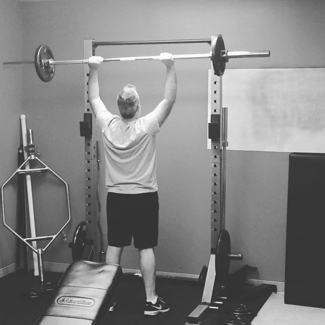 strength essentials overhead press