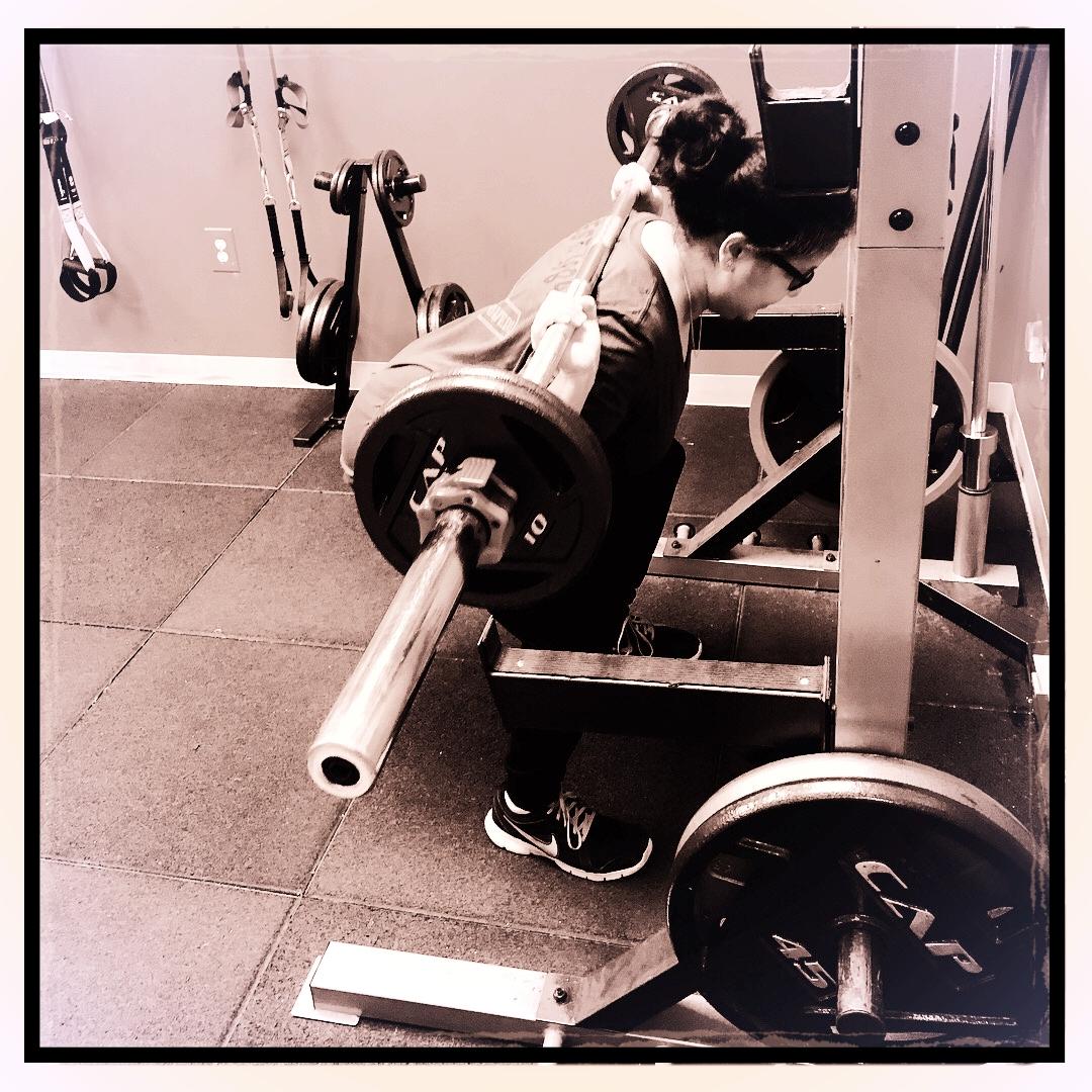 Squatting at Strength Essentials 716