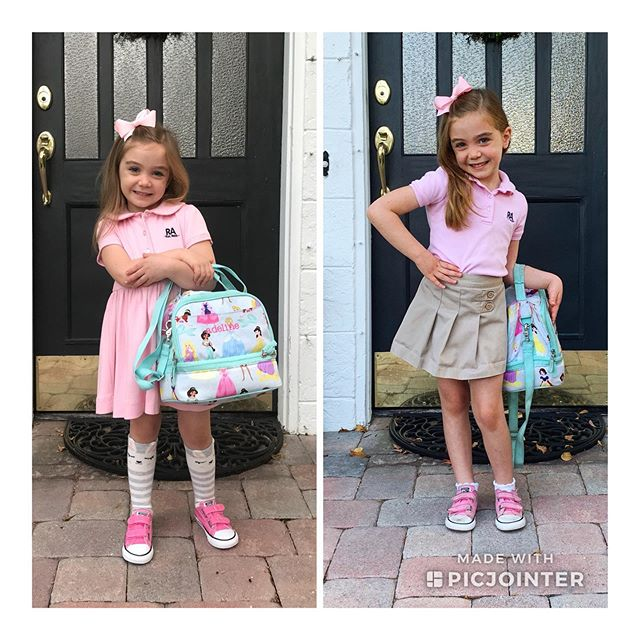 Our little one is not so little anymore!! Over the course of this year, school dresses began to fit like shirts and she started reading everything in sight. What hasn't changed is how sweet and loving she is...always at the ready with a smile, a hug and a song. We'll miss our wonderful PK teachers but can't wait to see all that Kindergarten has in store!! #mysweetadelinegirl #hellosummer #goodbyeprek