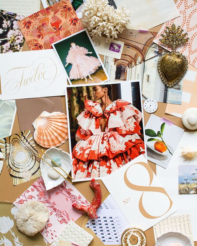 Part 2 of 2: I had the Verry special pleasure of styling a delicious mood board for the one and only @brides magazine for their June/July issue (on stands now)! There's also info in this article on why it's helpful to create a mood board while planning nuptials so run, don't walk, to get your copy! ✨ #VerryRobinStyling #VerryMoody