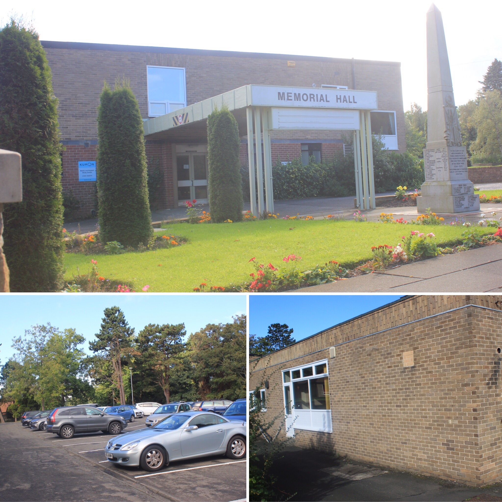 Cristal yoga ponteland ponteland memorial hall parking