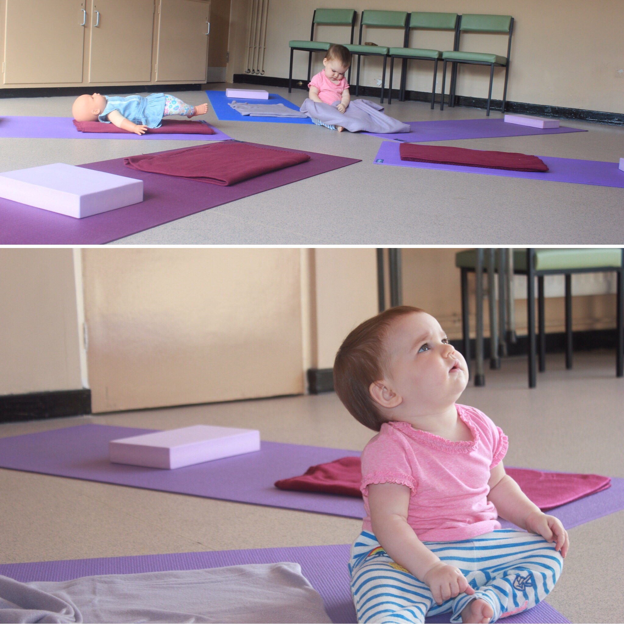 Sprog on the Tyne baby Cristal yoga yoga baby