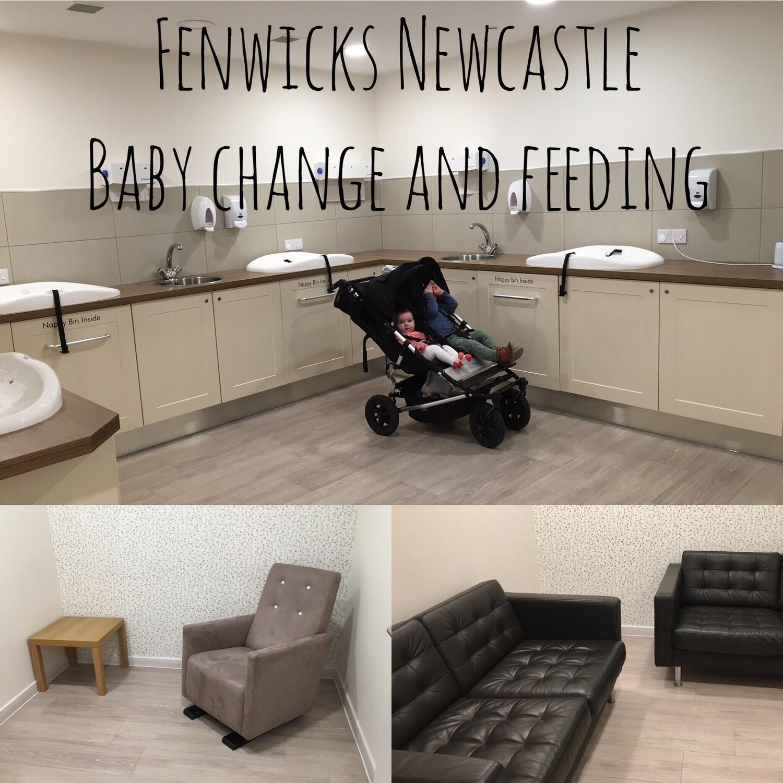 Newcastle feeding area Newcastle baby change. baby friendly Newcastle child friendly newcastle