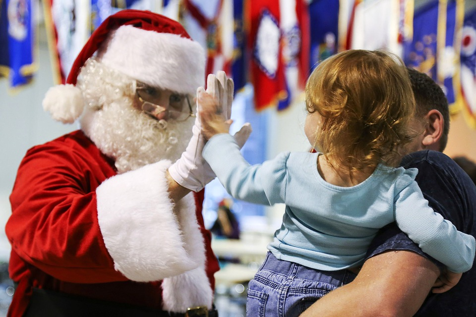 Scran with santa in Newcastle and the North East. Family events with santa at christmas time across the north east.