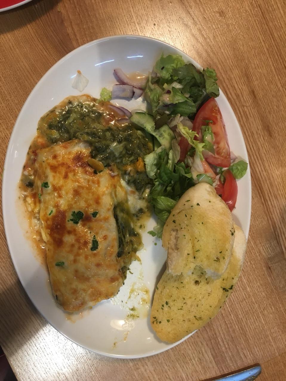 Sweet Potato and Feta Lasagne at The Cinder Path