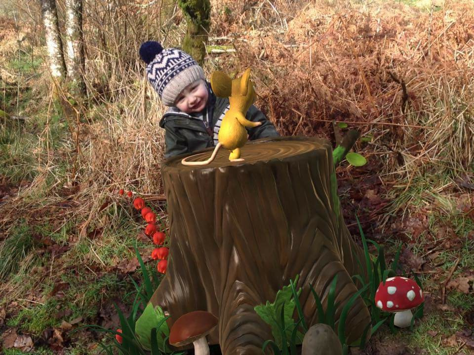 Gruffalo Spotter Kielder Water and Forest Park Northumberland Toddlers