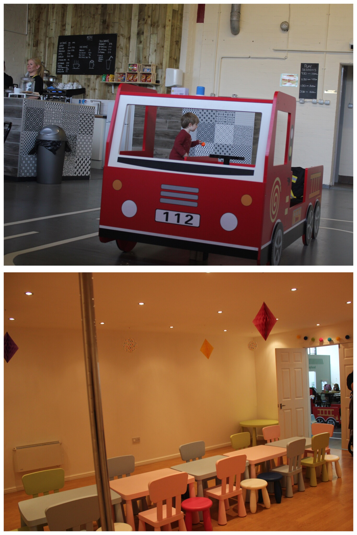 Lets Play Big Children's Role Play Washington Cafe and Party Room