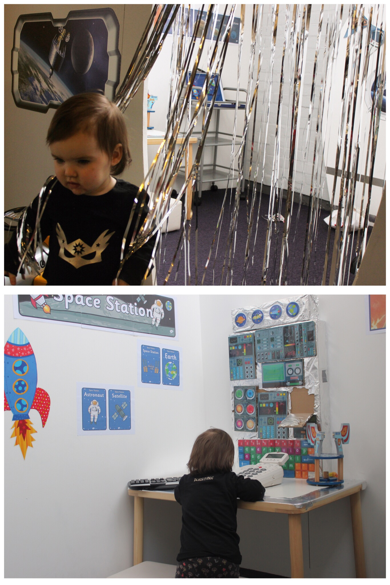 Lets Play Big Children's Role Play Washington Space Station