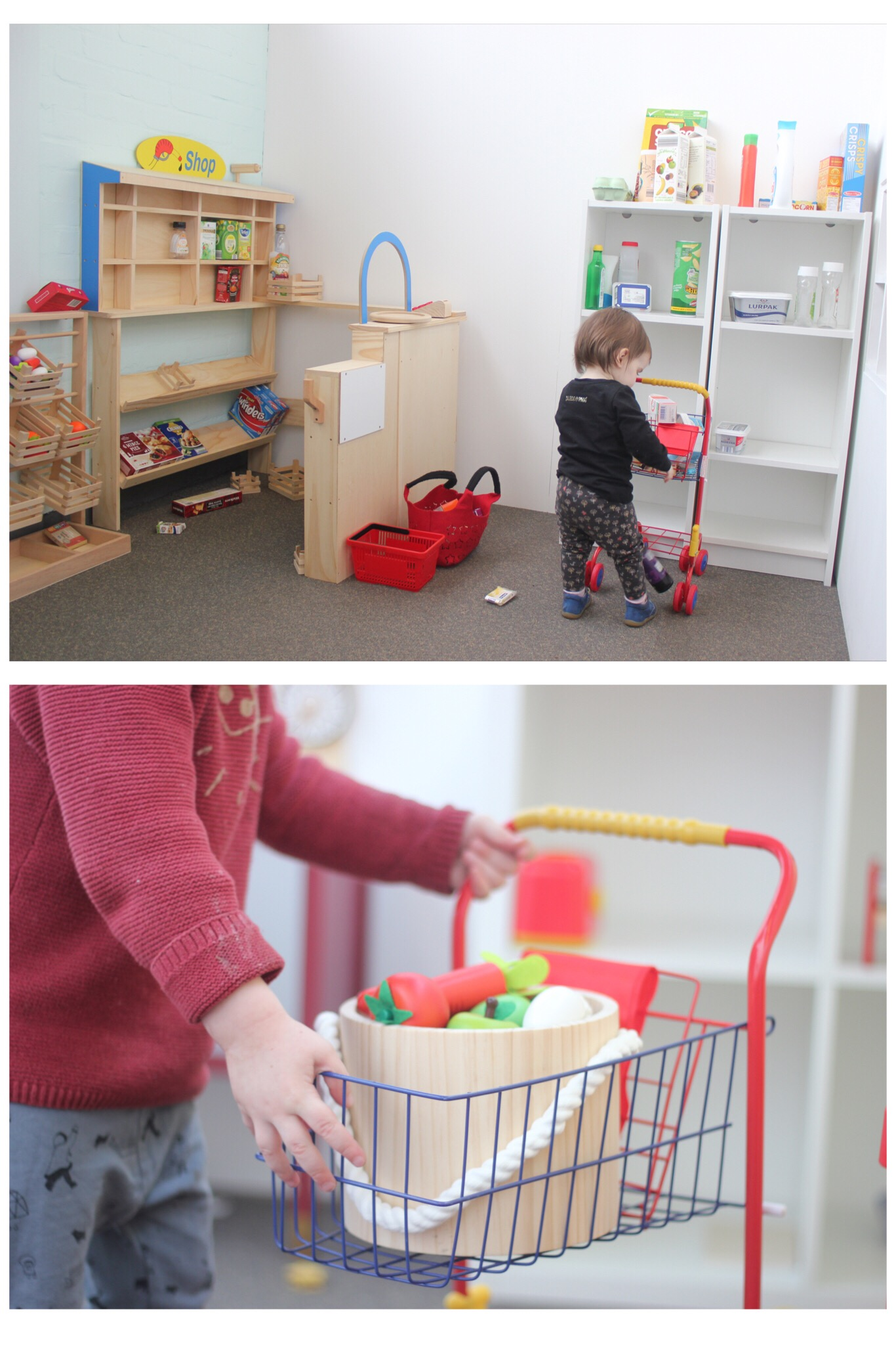 Lets Play Big Children's Role Play Washington Cafe and Shop