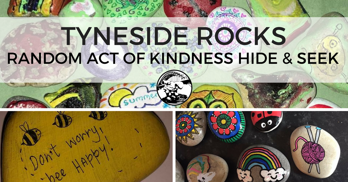 Tyneside Rocks Community Scavenger Hunt North East Newcastle with Kids