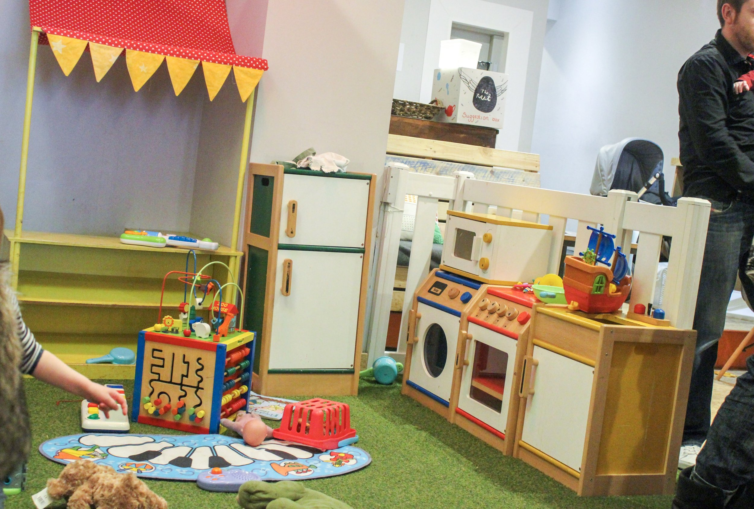 The Nest's playspace