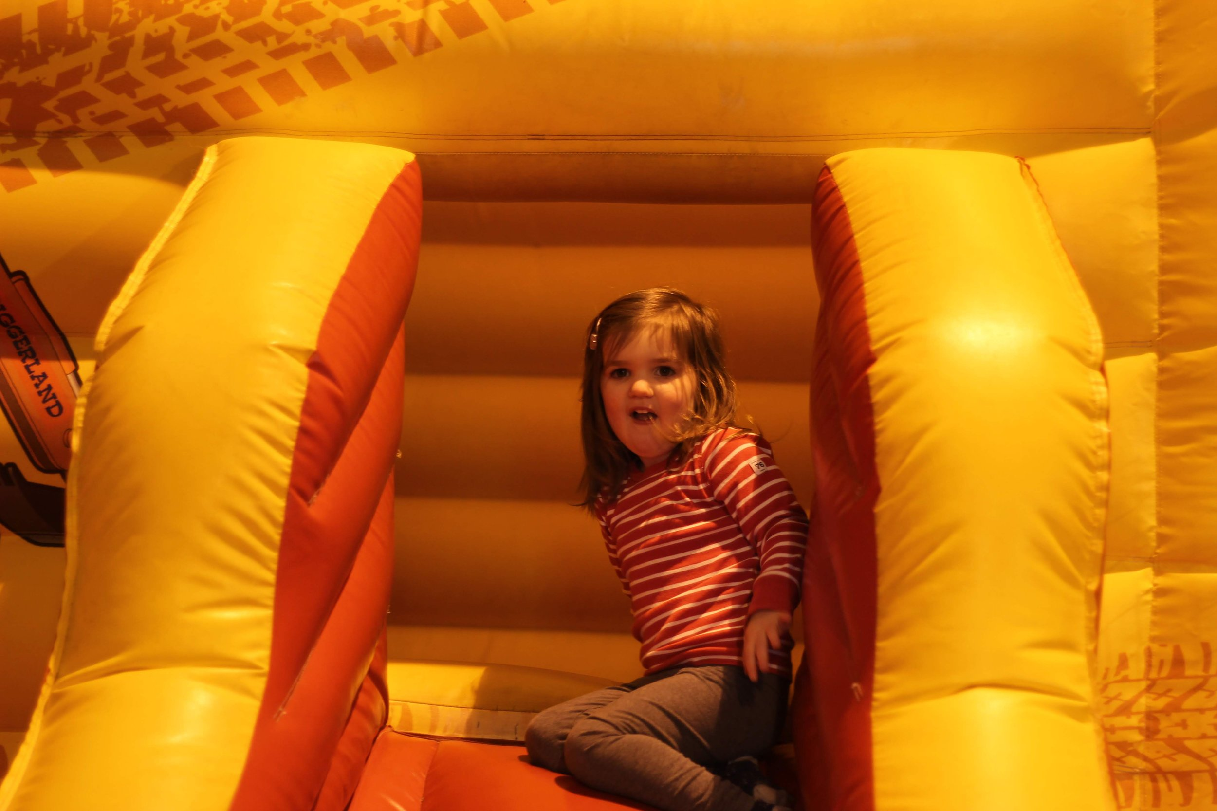 Indoor play area at Diggerland Durham