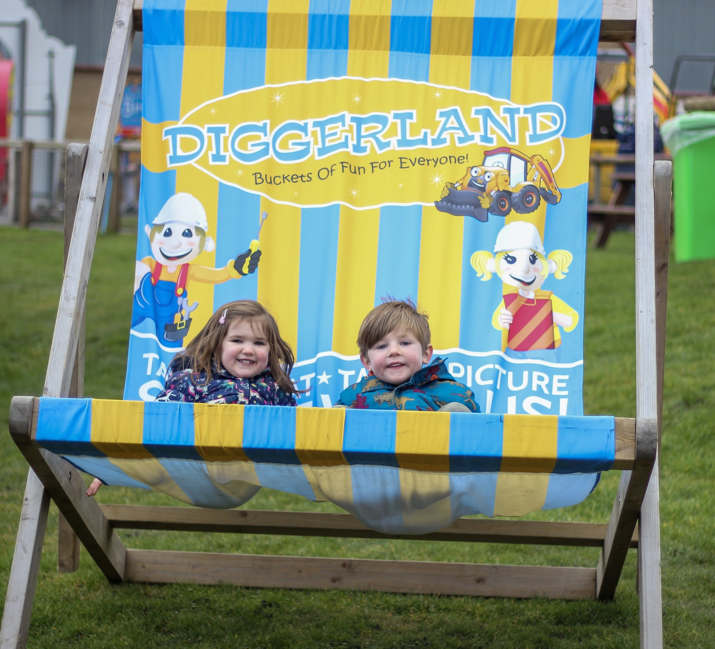 Diggerland Durham review with pre-schoolers