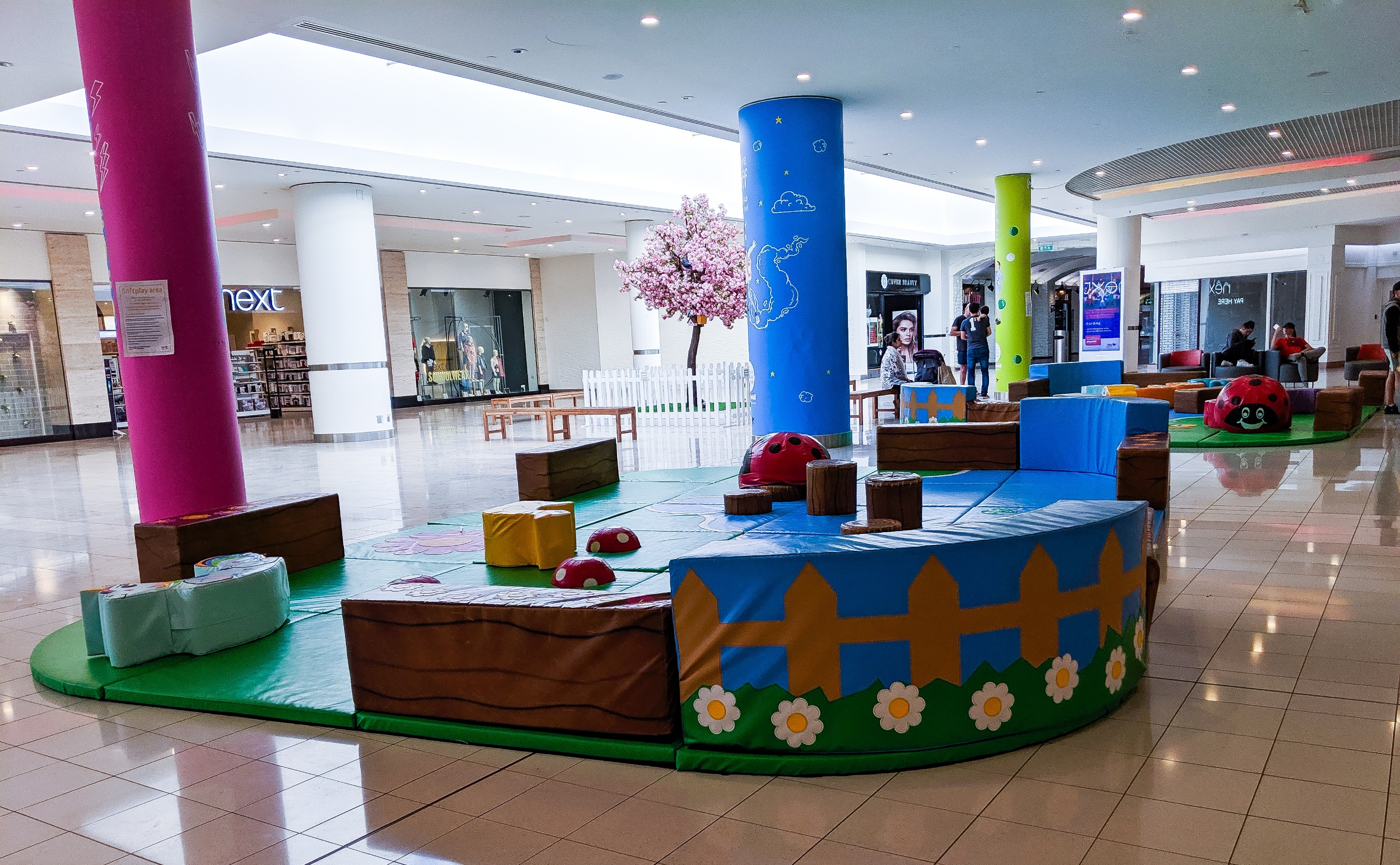 The free soft play at the Metrocentre