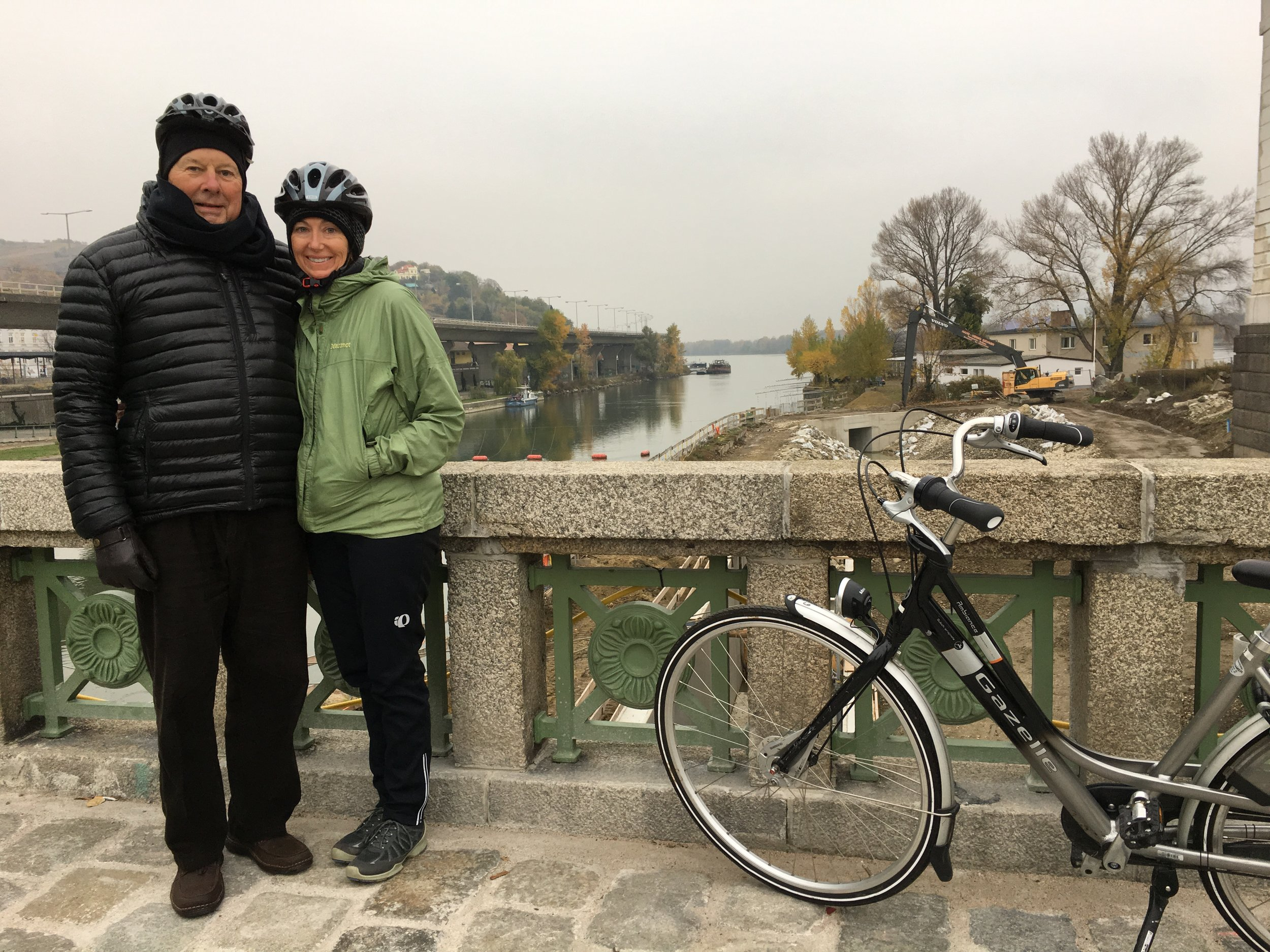We took the exhilarating 18-mile bike excursion to Klosterneuburg Abbey in Vienna during our AmaWaterways cruise in November.