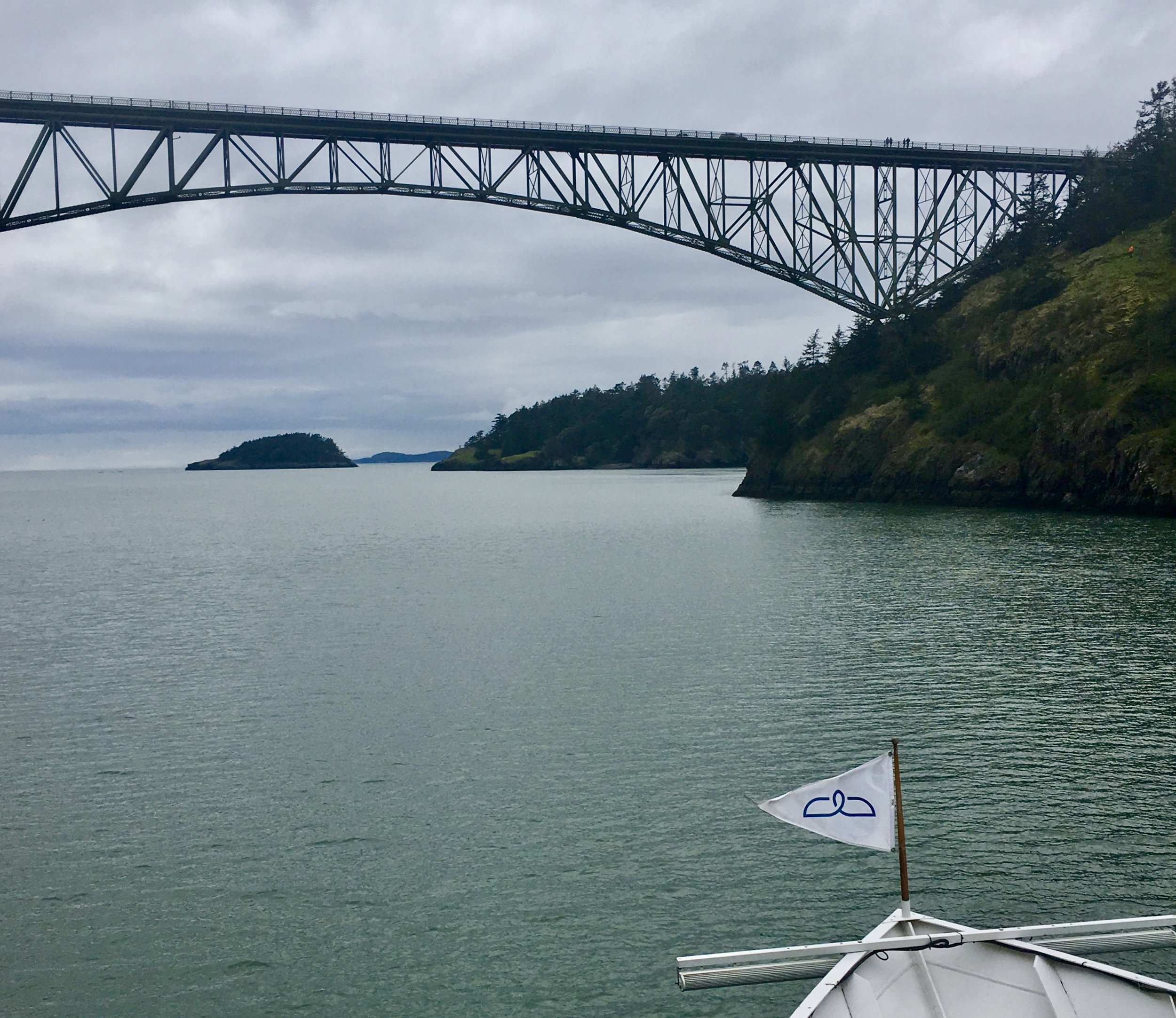 Sailing Through Deception Pass
