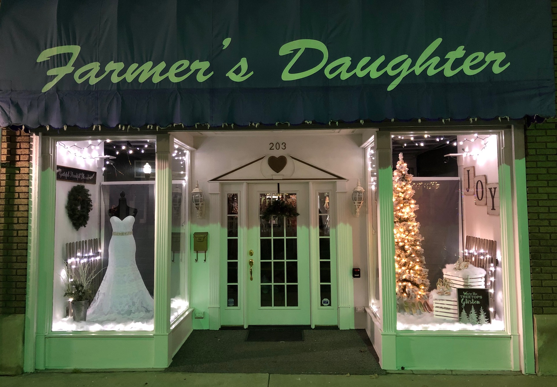 Farmer's Daughter is back! Starting Saturday, December 1, 2018