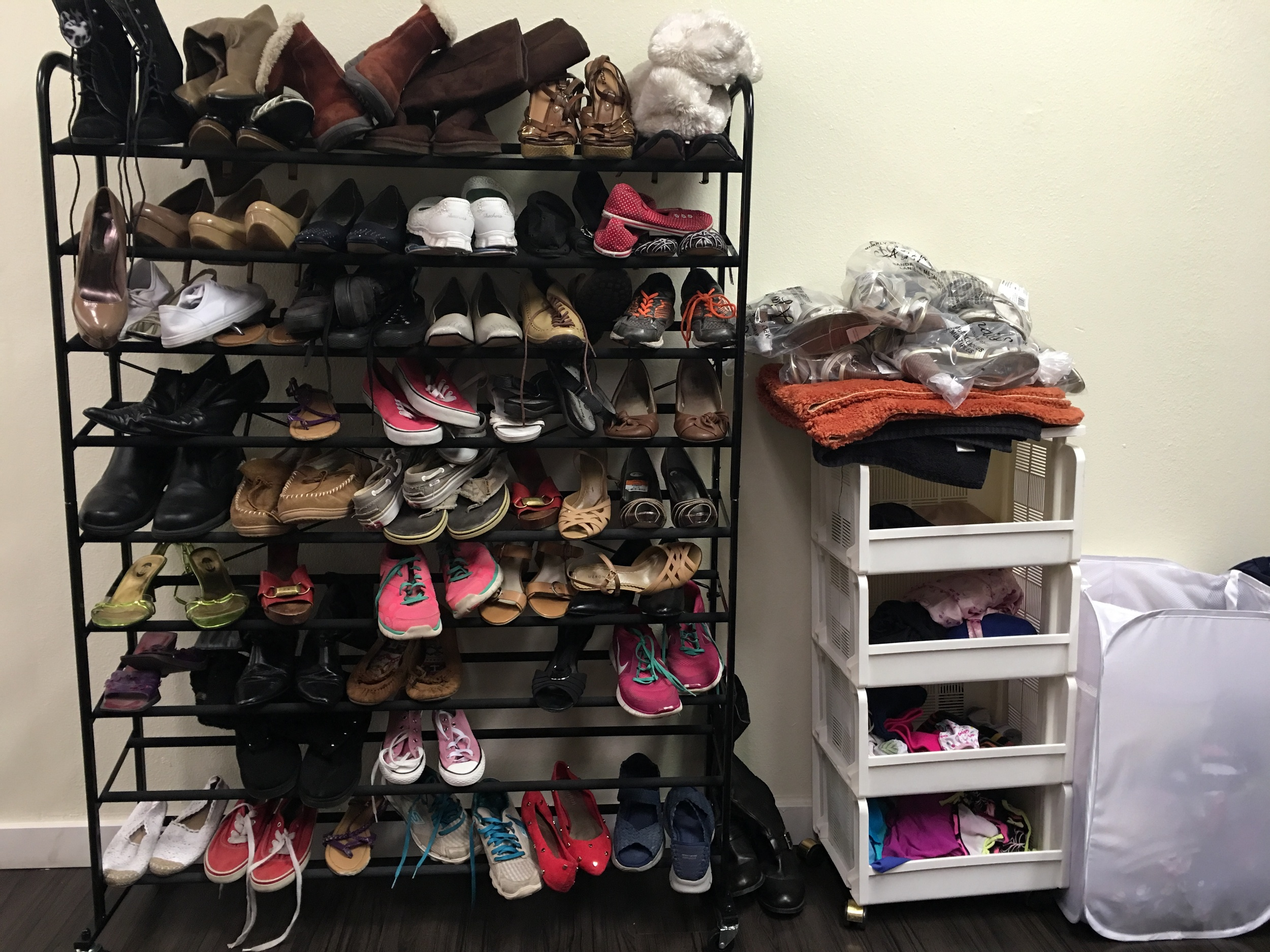Donated Shoe Rack