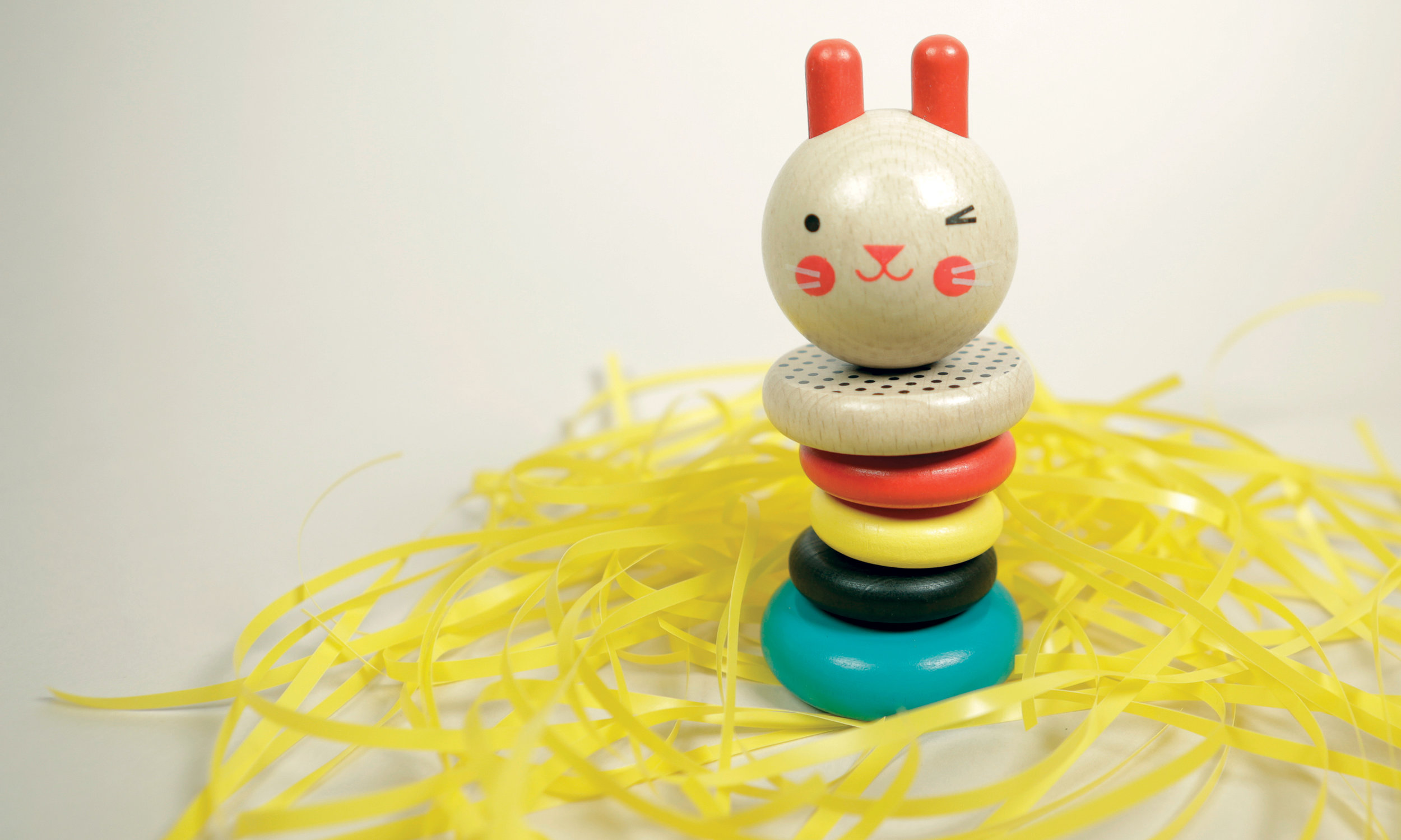 Wooden Bunny Toy