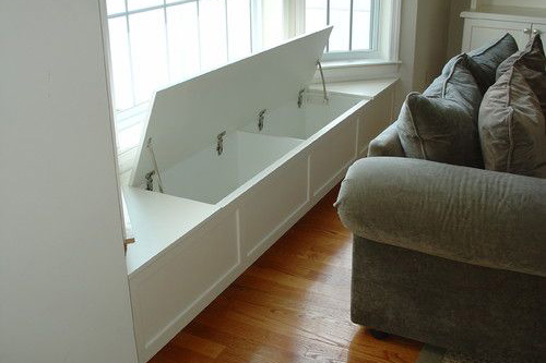 Entry Foyer with room for built in bench