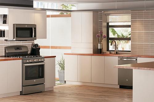 Slate GE appliance package