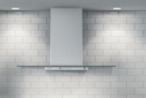 Designer slate wall mounted range hood