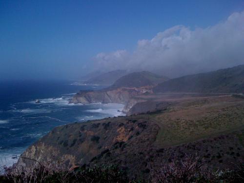 Somewhere between Monterey and Big Sur.