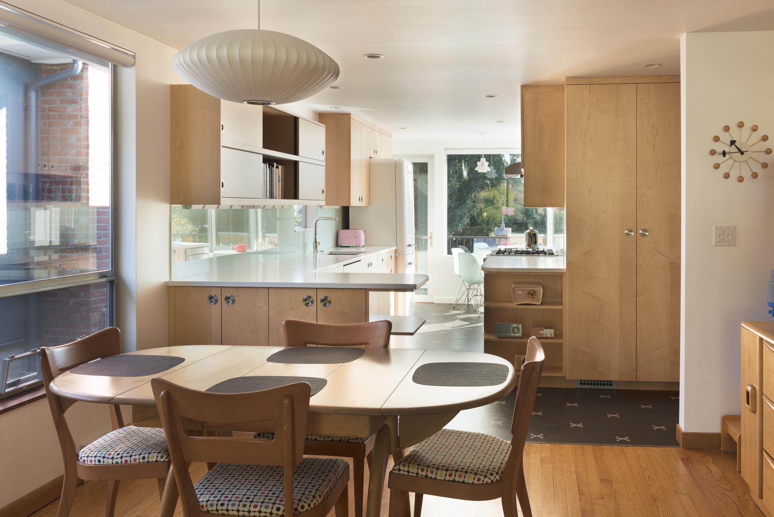 Magnolia Mid Century Modern Kitchen Atelier Drome