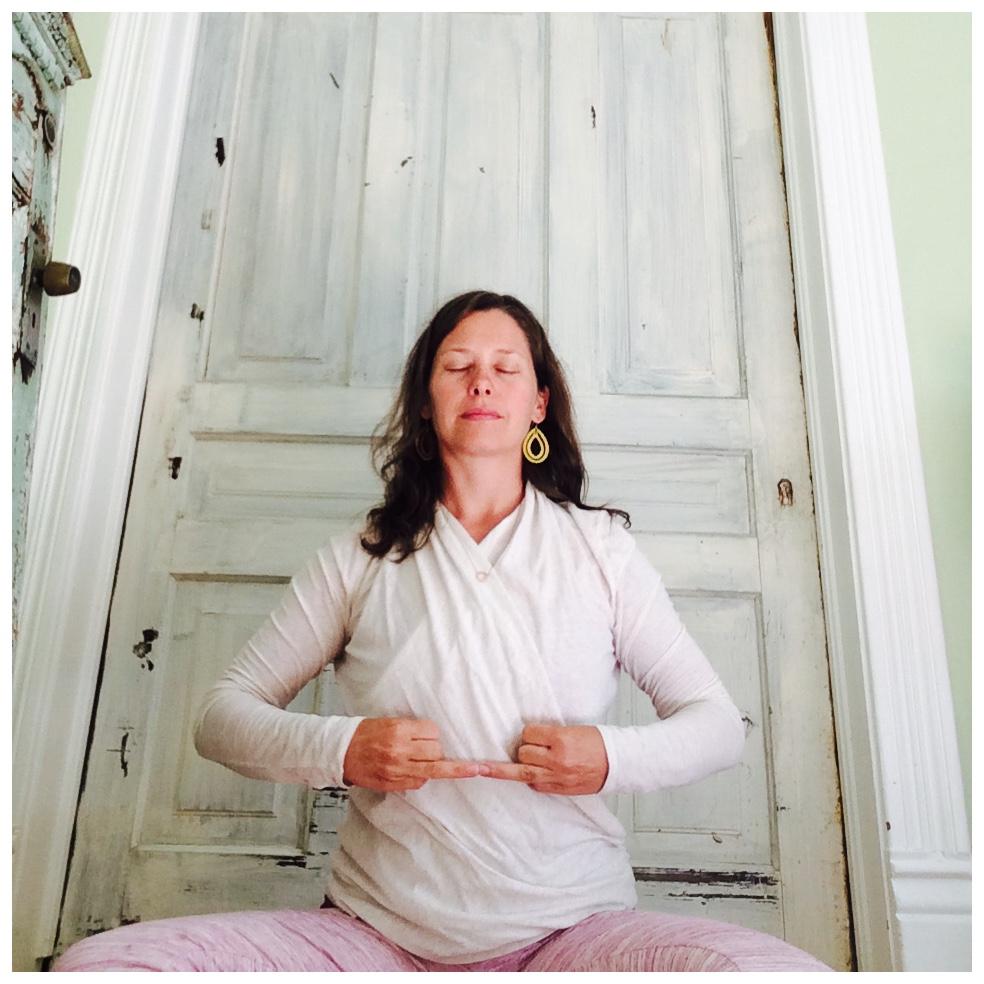 Anamika mudra ~ to support self-healing