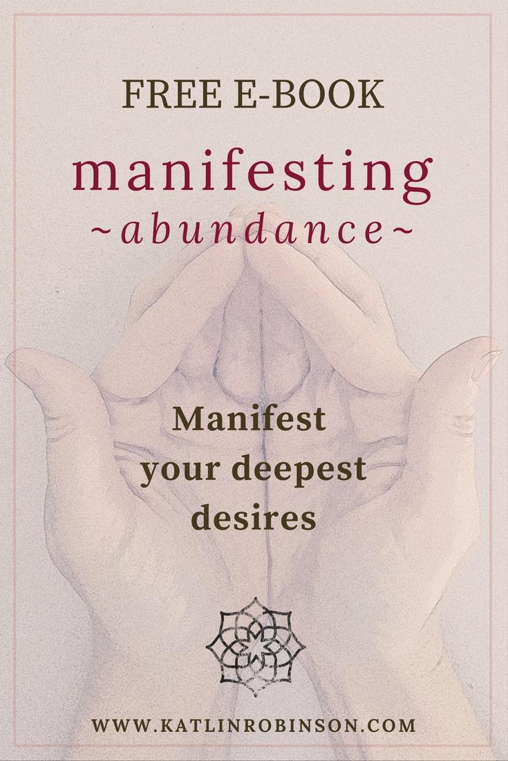 Manifesting Abundance FREE e-book