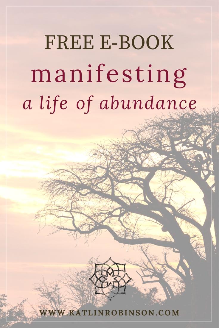 MANIFESTING ABUNDANCE FREE EBOOK
