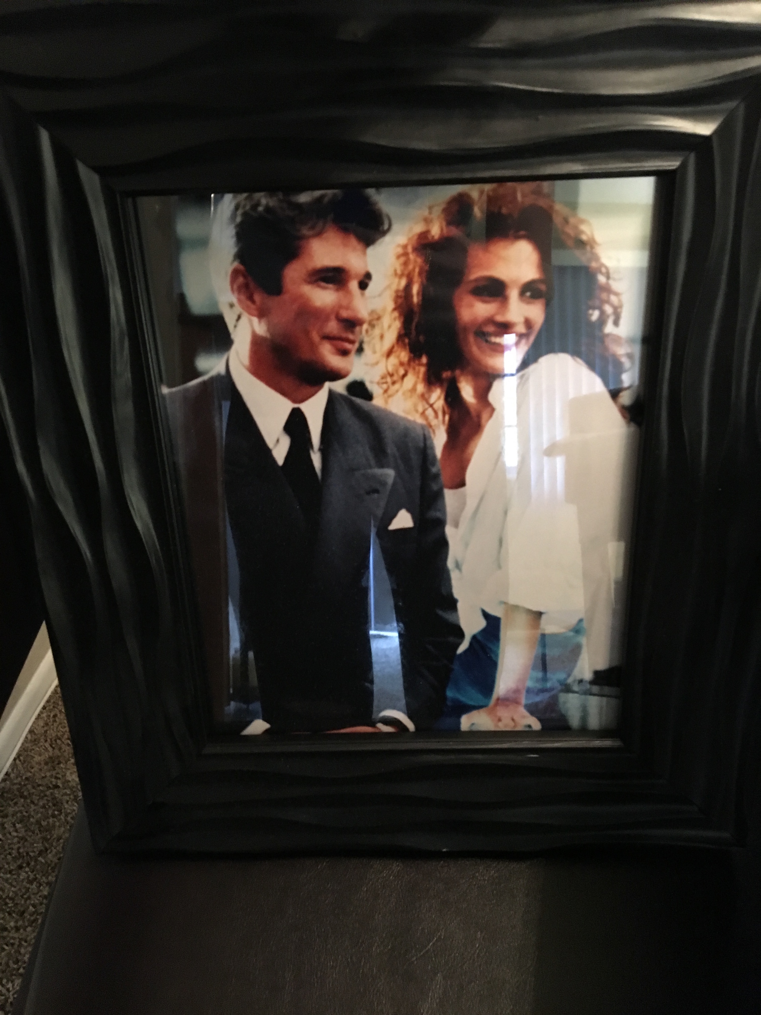 Corinne's bedside photo