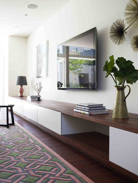 Low Modern Cabinet |  Pinterest